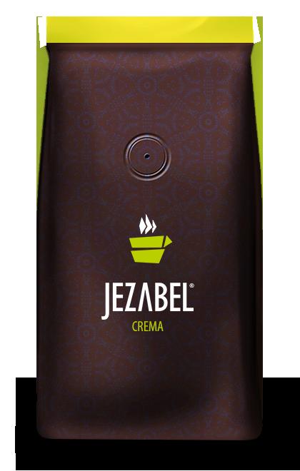 Cafea boabe Jezabel Crema
